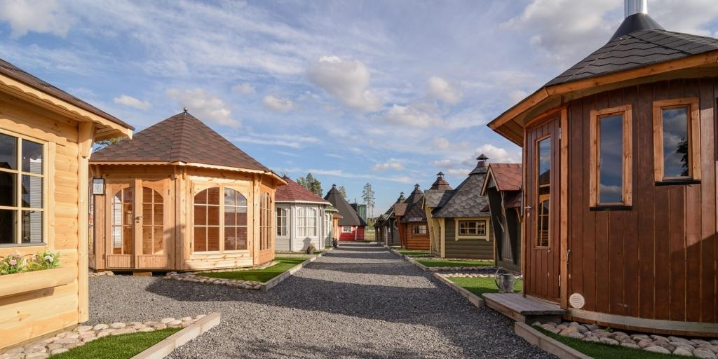 Finse Kota, blokhut, tuinhuis