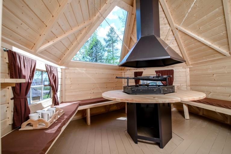 Finse Kota met glazen dak