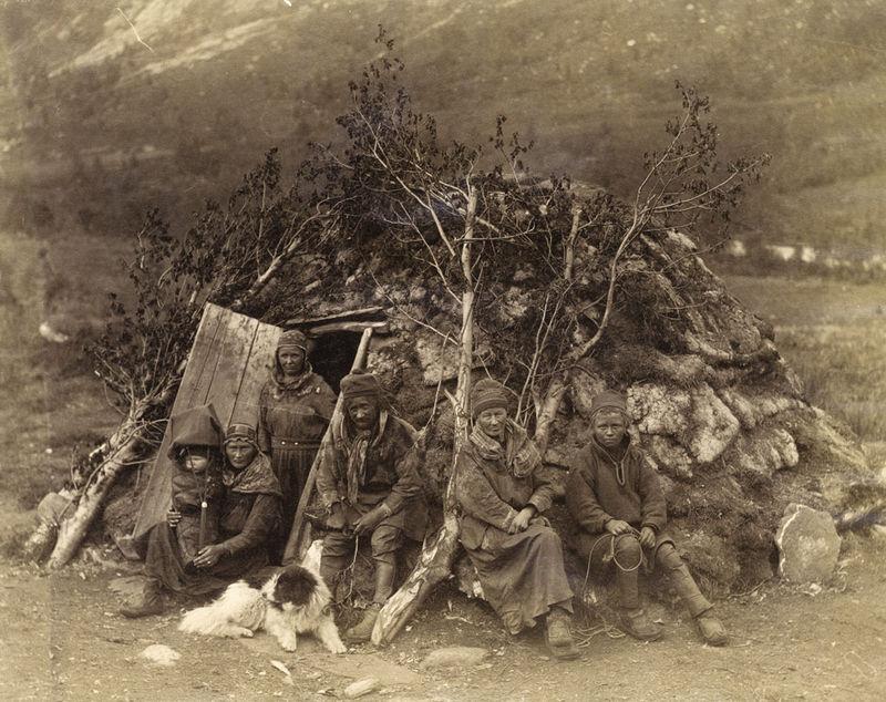 Samen Oervolk Lapland