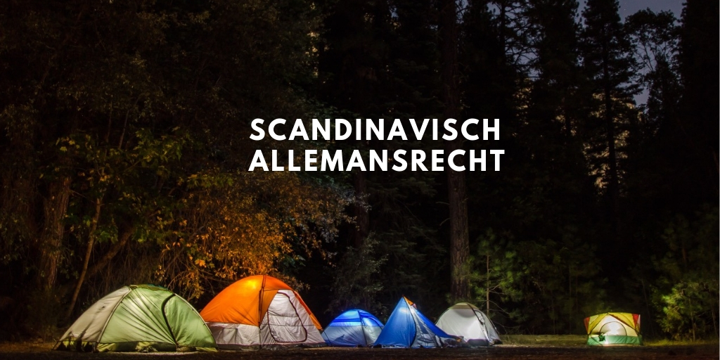 Allemansrecht in SCandinavië, wat is dat?