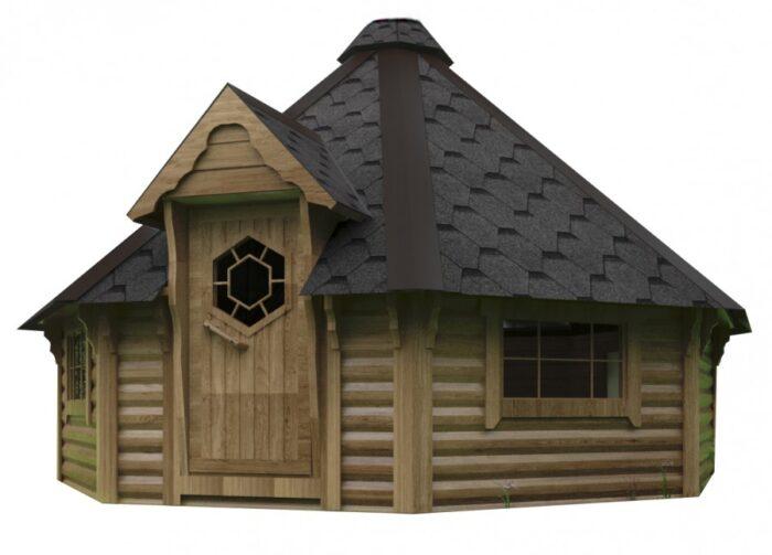 16.5 grill cabin be kamino camping