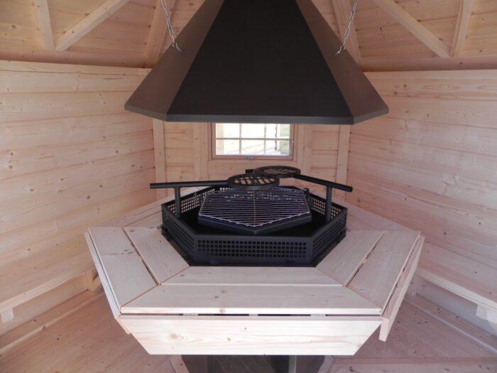 G4501 4.5 Grill Cabin inside 2