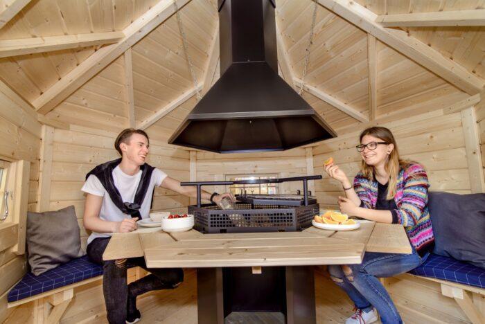 Grill Cabin 4.5 m2. Viking