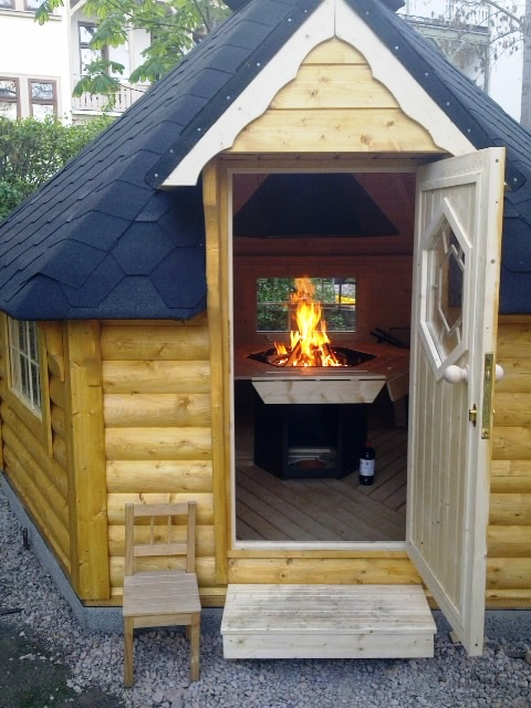 Grill Cabin 9.2 m2 Viking3