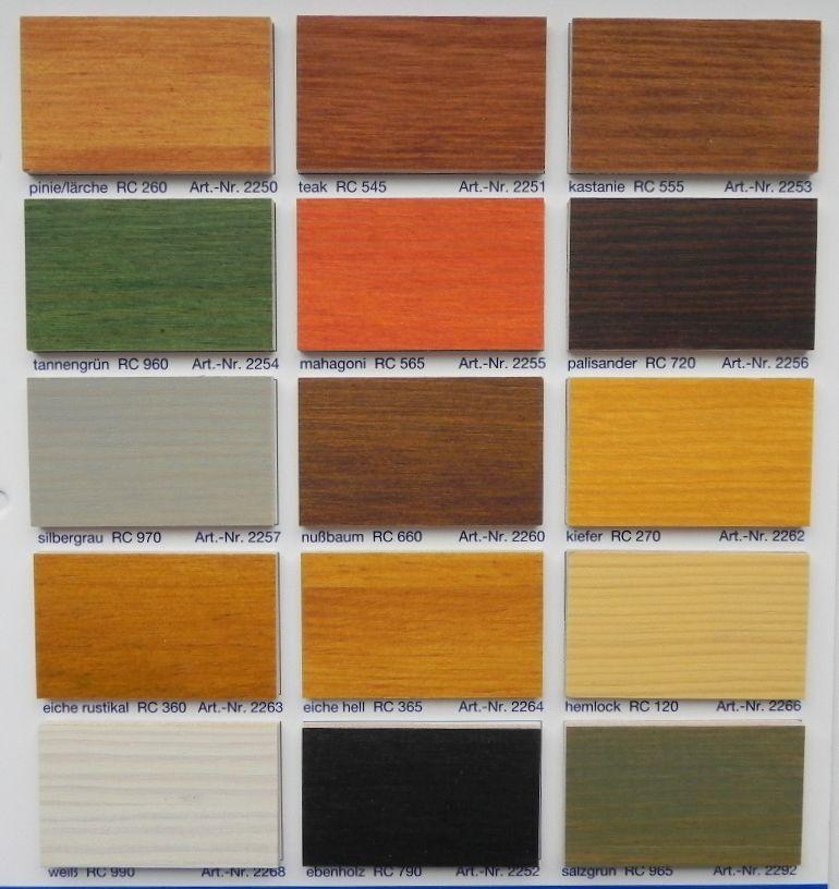 Remmens HK Lazuur kleurenkaart
