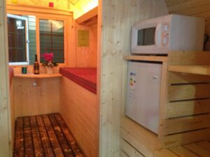 Campingbarrel Thermovuren 2persoons interieur 2