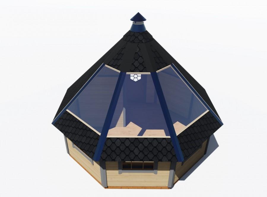 Je Finse Kota met een glazen dak