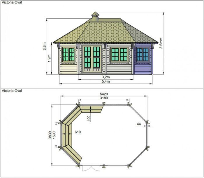Victoria Oval dimensions