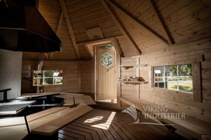Sauna Cabin 16.5m2 binnen a