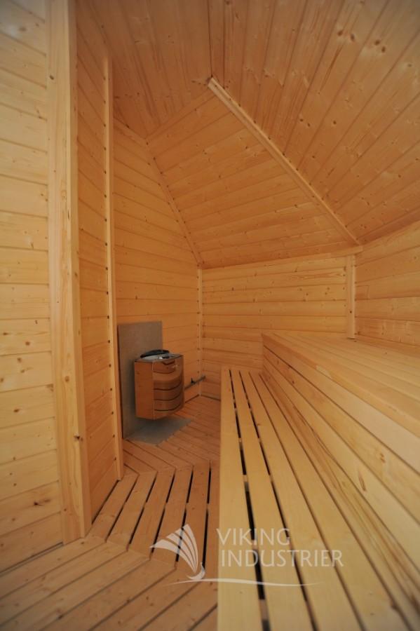sauna cabin 16.5 m2 inside viking13