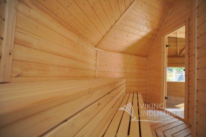 sauna cabin 16.5 m2 inside viking14