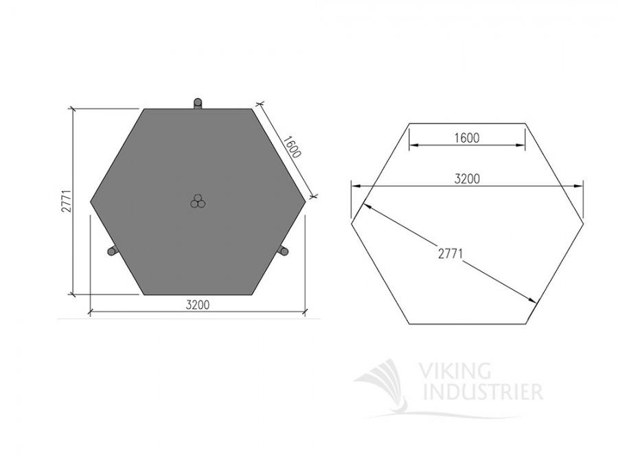 sauna cabin 7 m2 viking foundation