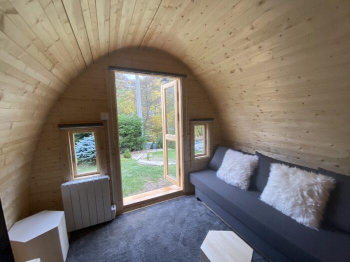 Camping Pod 3.2x4.8 tienerruimte
