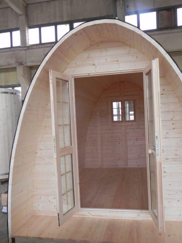 Kampeer popd voordeur 2.4 x 4