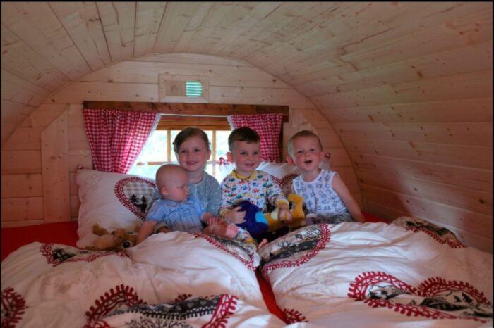 CampingBarrel NordicSpruce FamilySize dubbelbed
