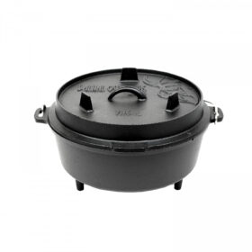 Valhal Outdoor Dutch Oven met pootjes 6l