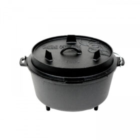 Valhal Outdoor Dutch Oven 8l met pootjes
