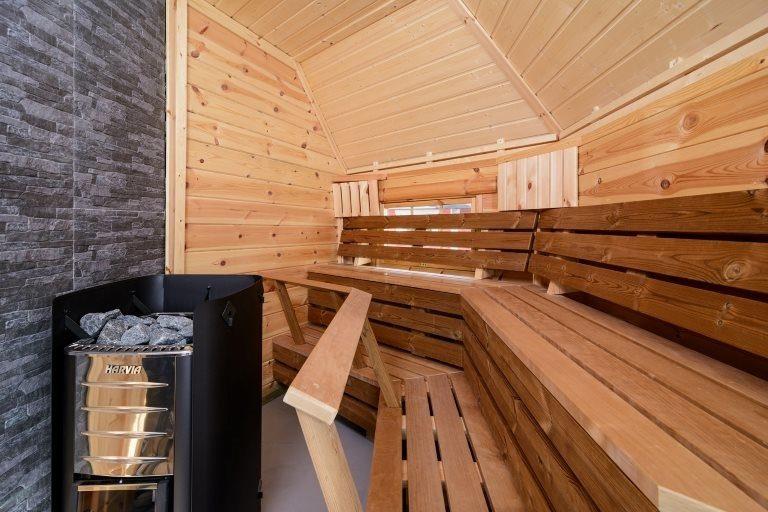 Combikota=grill-sauna-17m2