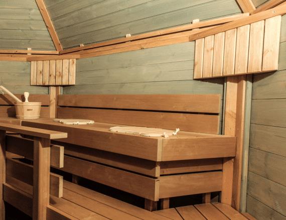 Combikota=saunaruimte
