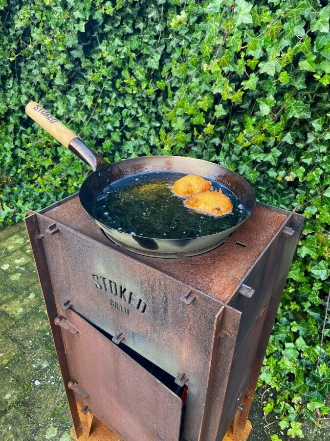 Stoked Frituur pan